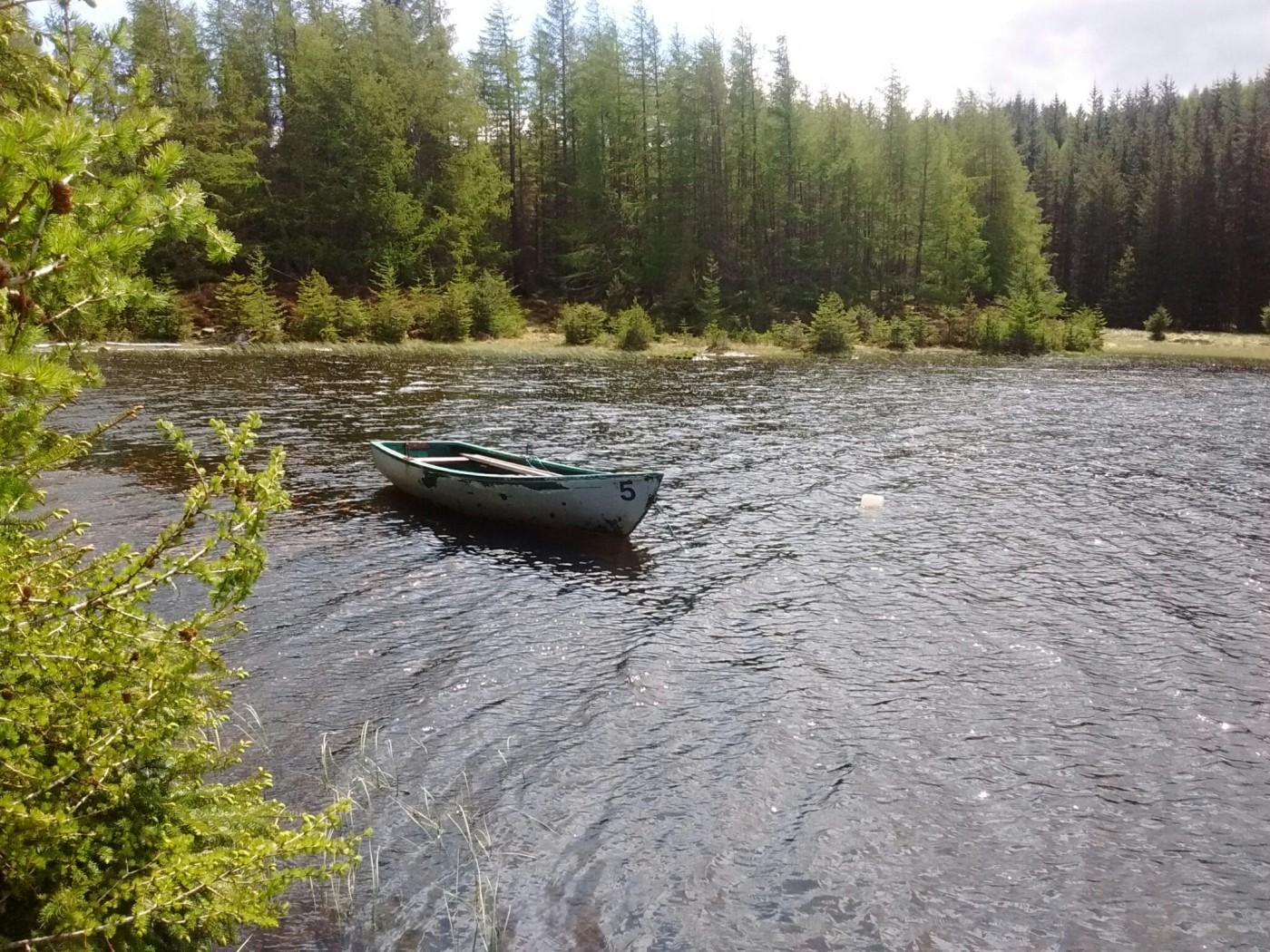 boat on Scottish loch