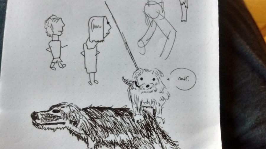 notebookdog